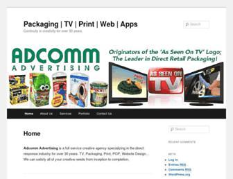 adcommadv.com screenshot