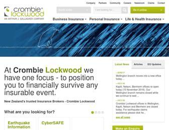 crombielockwood.co.nz screenshot