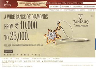 tanishq.co.in screenshot