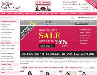 Thumbshot of Indianfashiontrend.com