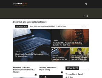 darkwebnews.com screenshot
