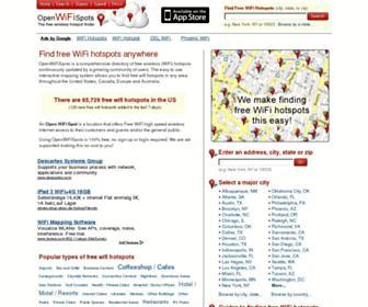 Thumbshot of Openwifispots.com