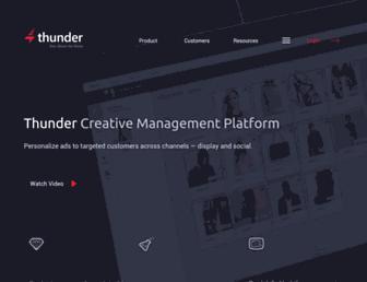 makethunder.com screenshot