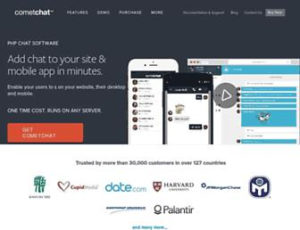 Thumbshot of Cometchat.com