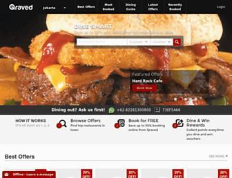 Thumbshot of Qraved.com