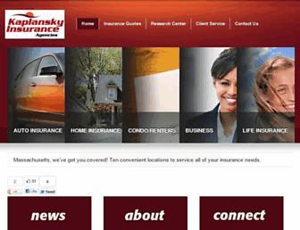 kaplansky.com screenshot