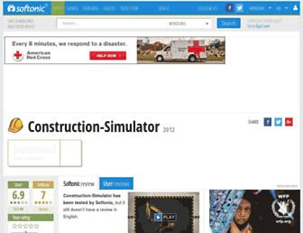 construction-simulator.en.softonic.com screenshot