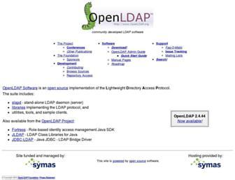 Thumbshot of Openldap.org