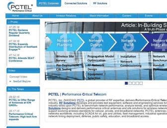 pctel.com screenshot