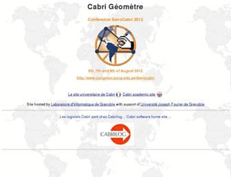 cabri.net screenshot