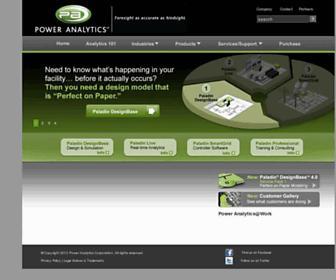 poweranalytics.com screenshot