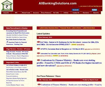 allbankingsolutions.com screenshot