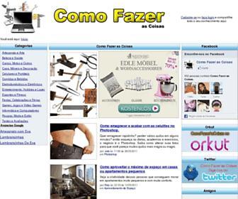 comofazerascoisas.com.br screenshot