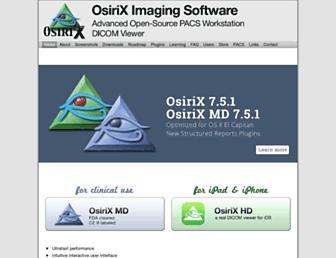 osirix-viewer.com screenshot