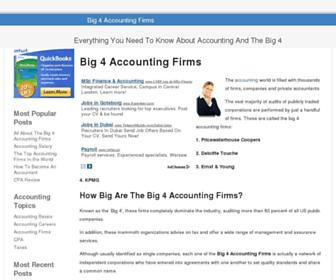 big4accountingfirms.org screenshot