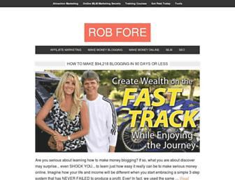 blog.robfore.com screenshot
