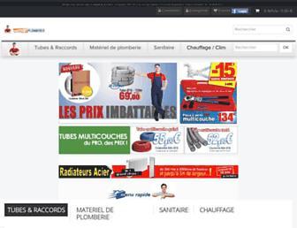 discount-plomberie.com screenshot