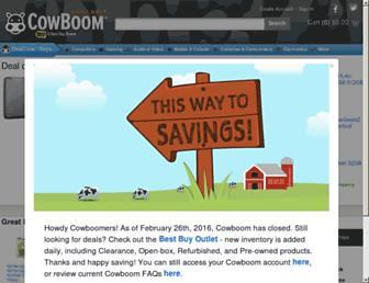 Thumbshot of Cowboom.com