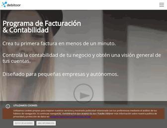 debitoor.es screenshot
