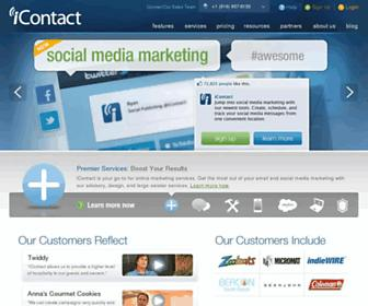 Thumbshot of Icontact.com
