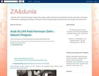 zadandunia.blogspot.com screenshot