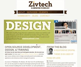 Thumbshot of Zivtech.com