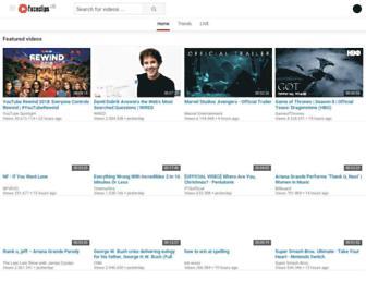 faceclips.net screenshot