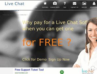Thumbshot of Livechatscript.com