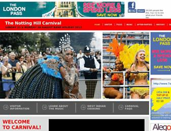 Thumbshot of Thenottinghillcarnival.com