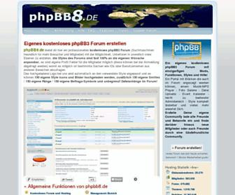 Thumbshot of Phpbb8.de