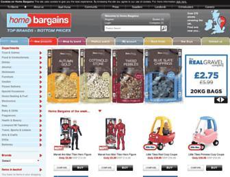 Thumbshot of Homebargains.co.uk