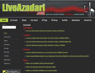 liveazadari.com screenshot