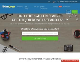 sribulancer.com screenshot