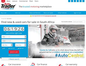 autotrader.co.za screenshot
