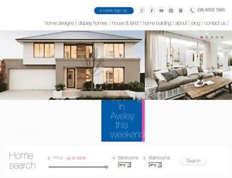apghomes.com.au screenshot