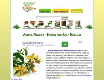 Thumbshot of Anniesremedy.com