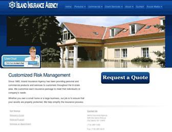 islandinsuranceagency.com screenshot
