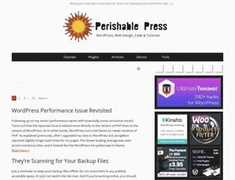 perishablepress.com screenshot