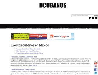 dcubanos.com screenshot