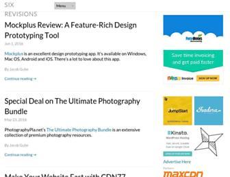 Thumbshot of Sixrevisions.com