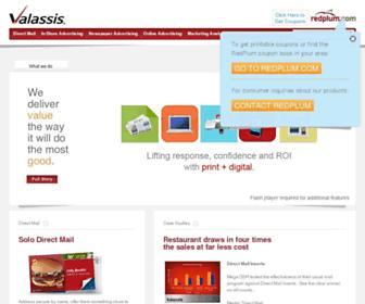 Thumbshot of Valassis.com