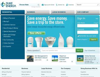 Thumbshot of Duke-energy.com
