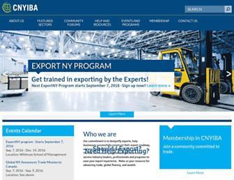 Main page screenshot of cnyiba.net