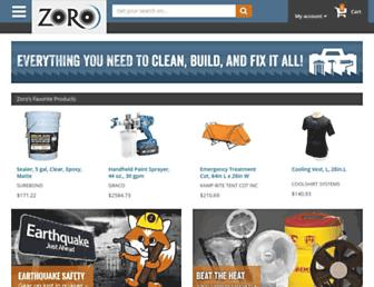 Thumbshot of Zoro.com