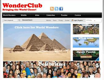 wonderclub.com screenshot