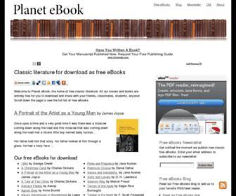 planetebook.com screenshot