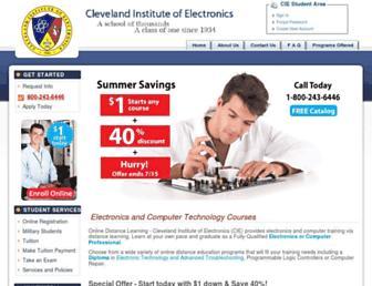 cie-wc.edu screenshot