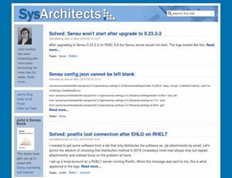 sysarchitects.com screenshot