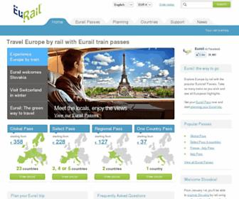 Thumbshot of Eurail.com