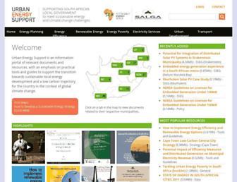 cityenergy.org.za screenshot